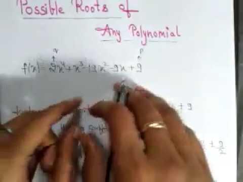Iit maths shorttrick root of polynomial witin10sec (hindi)