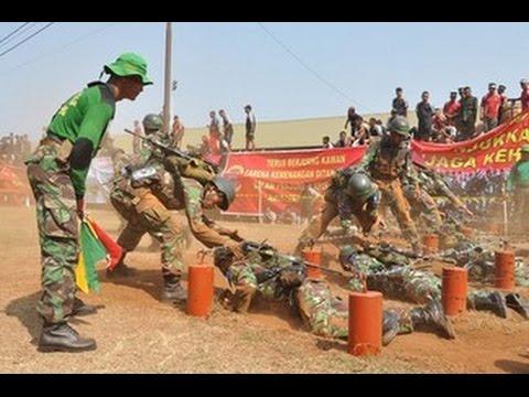 Lebih baik mandi keringat di medan latihan daripada mandi darah di medan pertempuran.