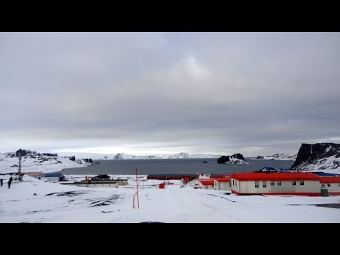 Base Presidente Eduardo Frei, King George Island, South Shetland Islands, Antarctica, South Pole