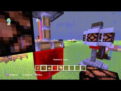 Minecraft: 5 redstone lamp night light designs