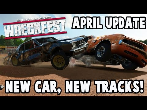Wreckfest Early Access April Update - NEW CAR AND NEW TRACKS - Next Car Game Gameplay