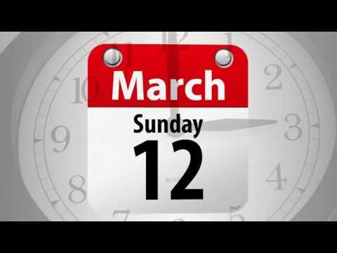 Daylight Saving Time Begins - Change Your Clocks and Check Smoke Alarms