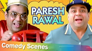Best of Comedy Scenes Paresh Rawal | Superhit Movie Phir Hera Pheri - Bhagam Bhag - Welcome