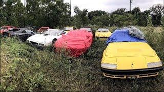 खेतो में खड़ी सड़ रही है करोडो की गाड़ियां | 6 Expensive and Exclusive Abandoned Cars (CARS STORIES)