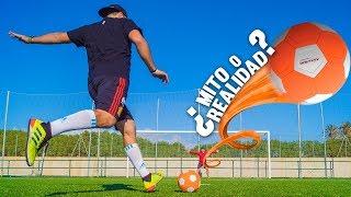 El BALÓN con MÁS EFECTO del MUNDO ¿MITO O REALIDAD? ¡Retos de Fútbol!