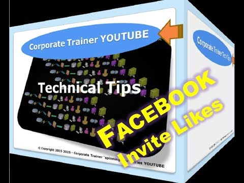 How to INVITE LIKES | YouTube 2017 | Get FACEBOOK FRIEND LIKES  (NEW & LATEST)