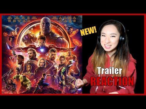[REACTION] Marvel Studios' Avengers: Infinity War - Official Trailer   Mar 16, 2018