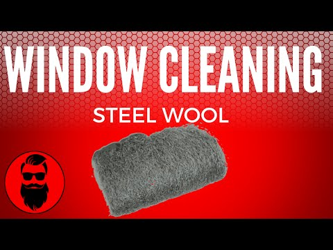 Knight Window Cleaning Steel wool for window cleaning