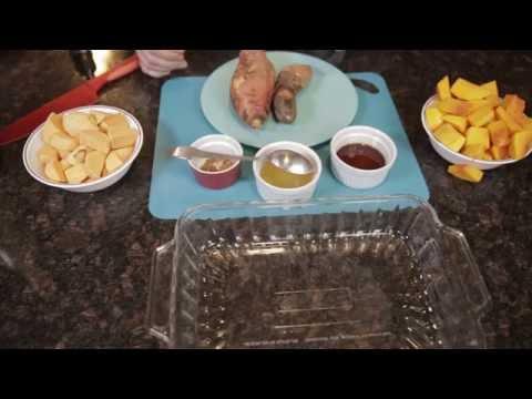 Roasted Maple Bacon Sweet Potato Butternut Squash