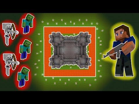 Minecraft SURVIVE THE INVASION! 😱 (With GUNS!)