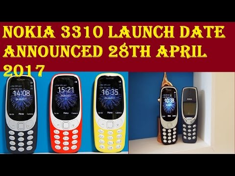 Nokia 3310 Launch Date Announced 28th April 2017 :Austria and Germany