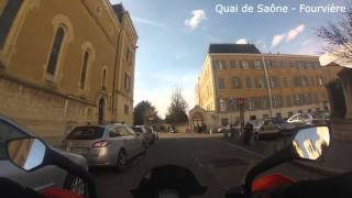 Un tour en ville - Lyon - Fourvière - Croix Rousse