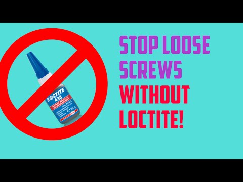 How to Keep Screws From Loosening Without Loctite | RC Cars Or Anything!