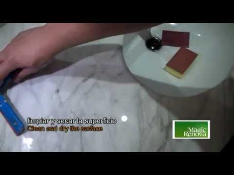 How to remove scratches easily from marble by  polishing