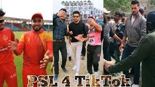 PSL 4  alll Short Videos ll Pakistani Cricketers ll TikTok Musically Competition ll