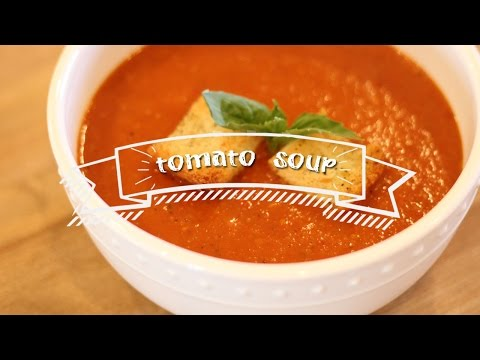 Healthy Recipes | Roasted Tomato Soup