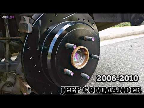 BRAKE PADS & ROTOR REPLACEMENT (2006-2010 JEEP COMMANDER)