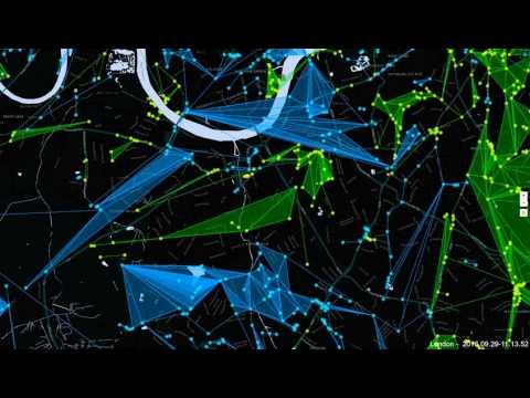 Ingress London 24hr time lapse   29 09 2016