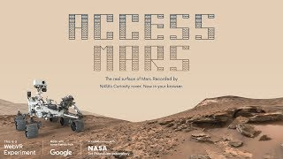 Access Mars: Helping NASA and JPL bring the surface of Mars to your browser