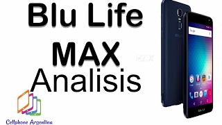 BLU LIFE MAX, ANALISIS COMPLETO! (review español).