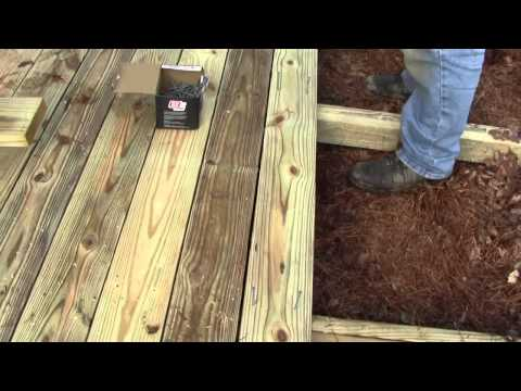 TIPS ON DECKING A SHED RAMP 3 OF 3