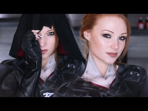 Assassins Creed: Syndicate Makeup/Cosplay Tutorial (Clothes Painted on!)