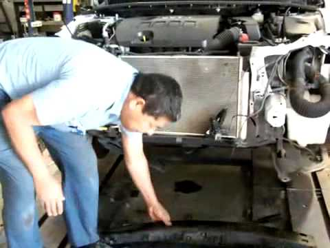 Toyota Corolla Front End Damage & Frame Repair Explained  By CARS