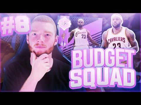 BUDGET SQUAD #8 - FREE LEBRON JAMES PLUS PACK!! NBA 2K18 MYTEAM!