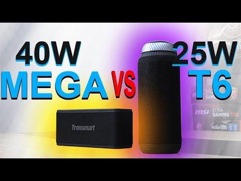 Tronsmart Mega vs T6 -- Which One Sounds Better?