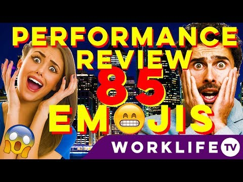 Your Performance Review in 85 EMOJIS! In 6 Minutes! (Appraisal Meeting Tips)| WORKLIFE TV