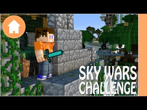 Hypixel Skywars Minecraft - Challenge: Win a Game of Skywars