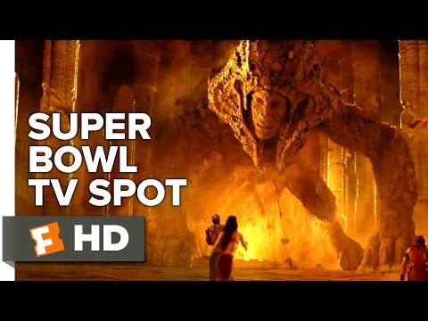 Gods of Egypt Official War Super Bowl TV Spot 2016 - Brenton Thwaites, Gerard Butler Movie HD