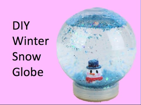 DIY Winter Snow Globe