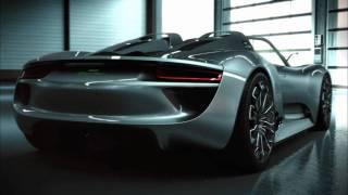 Porsche 918 Spyder. Development. (1080p HD)