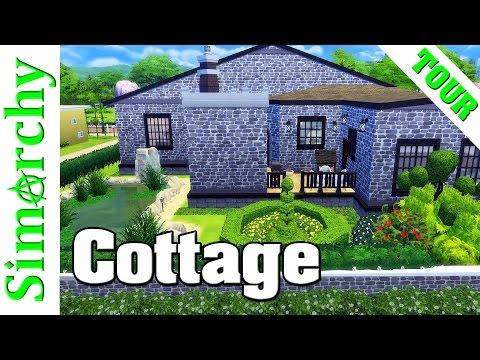The Sims 4 House Tour - Buckinghamshire Cottage Home with Lush Landscaping
