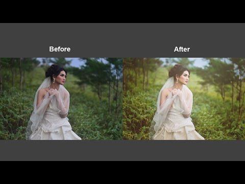 Photoshop CC Tutorial:  Soft Vintage Color Effect Easily