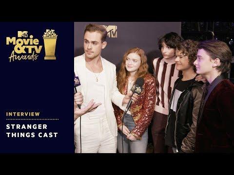 'Stranger Things' Cast Say Season 3 Is Darker & Funnier | 2018 MTV Movie & TV Awards