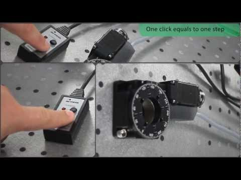 Manual Control For Stepper Motors
