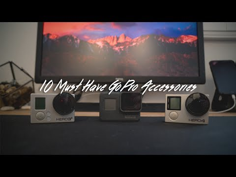 10 Must Have GoPro Mounts and Accessories (4K)