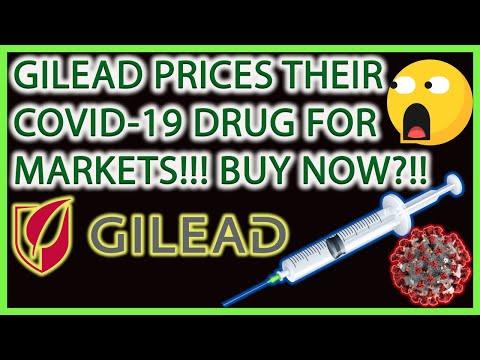 GILEAD SCIENCES STOCK PRICES THEIR COVID-19 REMDESIVIR DRUG! BUY NOW?(GILD)🚨BIOTECH STOCKS ANALYSIS🎯