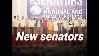 NTG: 12 nanalong senador, pinoproklama na