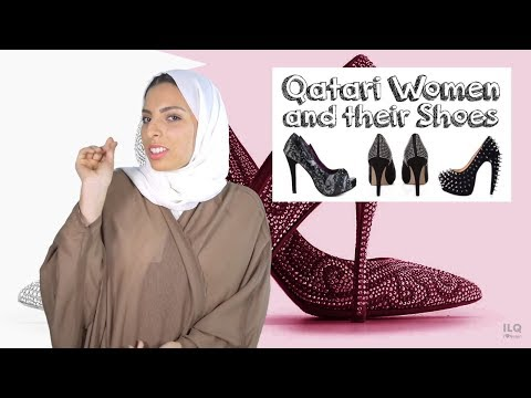 #QTip: Why do Qatari girls wear funky/fancy shoes?