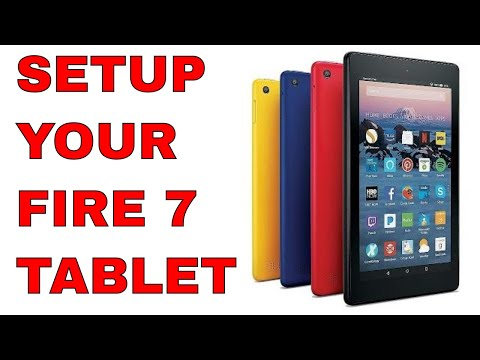 How to Setup Amazon Fire 7 Tablet with Alexa