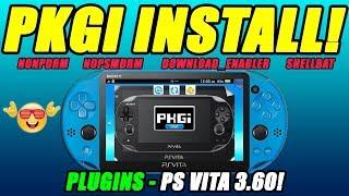 Hencore PS VITA 3 65, 3 67 & 3 68! Install Vita Games, ISO