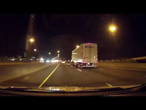 Night Drive with DOD dash Cam
