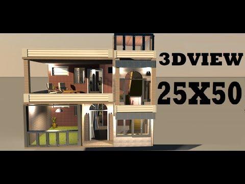 25X50 Hose design made by build your dream house