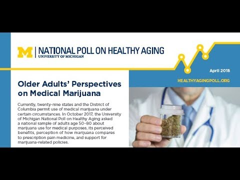 Older Adults' Perspectives on Medical Marijuana: National Poll on Healthy Aging
