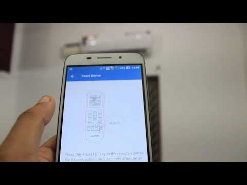 How to set up Lloyd WiFi Ac remote on your Mobile| Smart AC|WiFi enabled AC