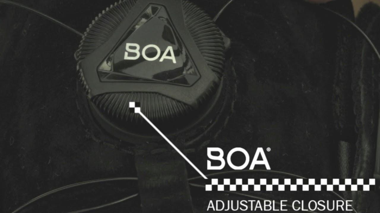 Funkce Vans All Weather MTE + BOA vázání