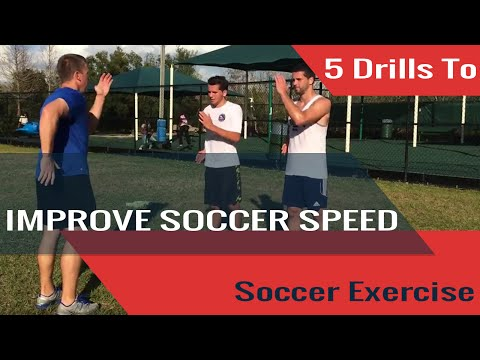 5 Drills To Improve Your Soccer Speed - Renegade Soccer Training